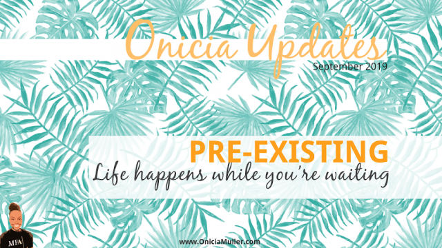 Pre-Existing web series by David Audinio   Chicago web series writer onicia muller