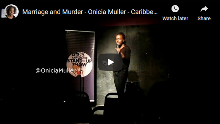 Caribbean comedy | chicago comedian | onicia muller
