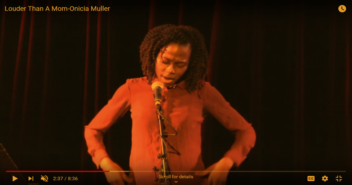 Caribbean comedian - Chicago comedy - Louder than a mom - Onicia Muller