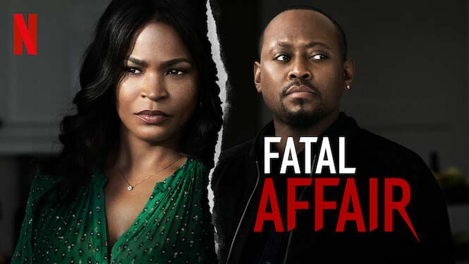 Afatal Affair - movie review - netflix - strong black lead - chicago comedian - onicia muller