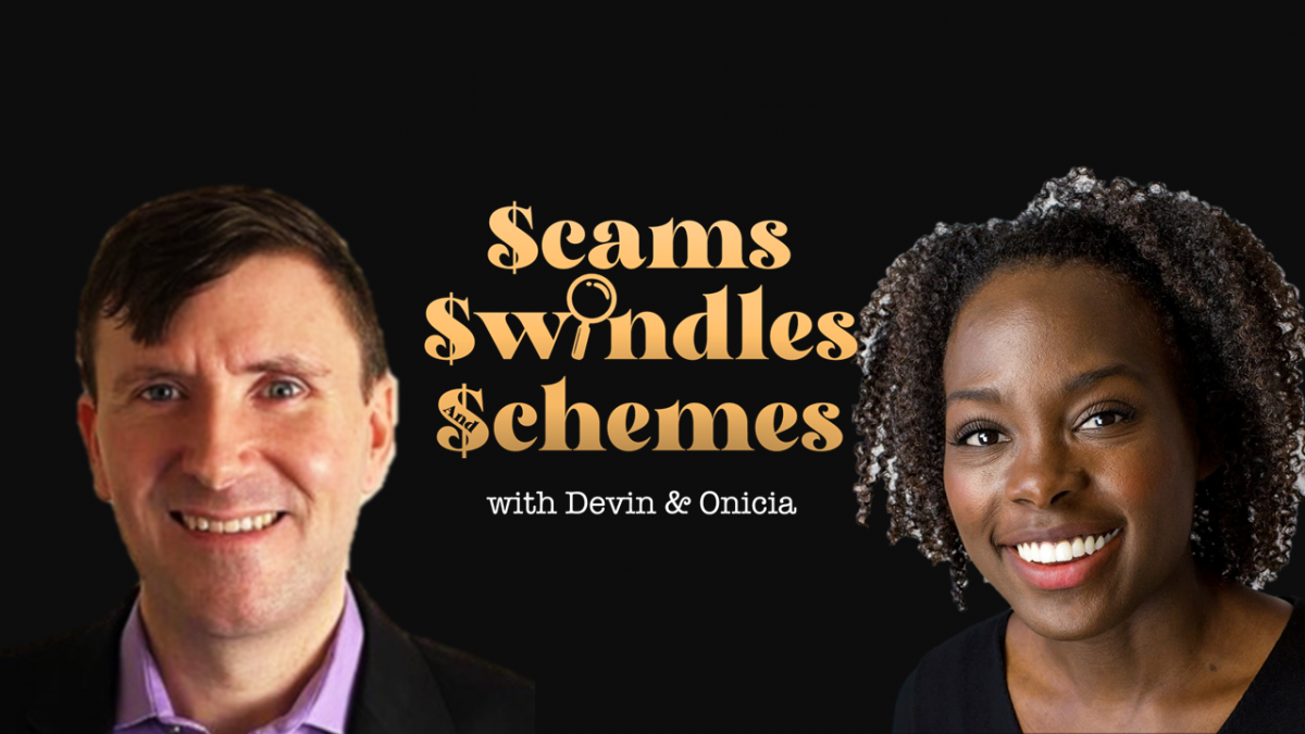 Scams Swindles Schemes - Buy Me Coffee - comedy podcast